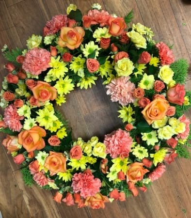 Large Bright wreath