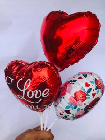 Assorted Love Stick Balloons