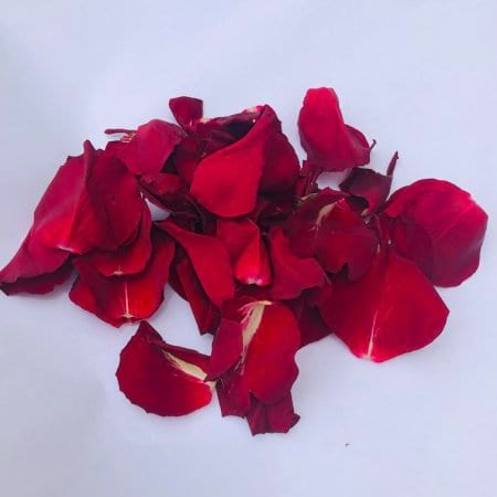 Bag of Fresh Red Rose Petals