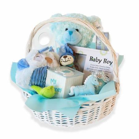 baby gift basket – Blue